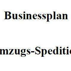 Mit dieser Vorlage können Sie einen Businessplan für  Umzugsspediteur erstellen.