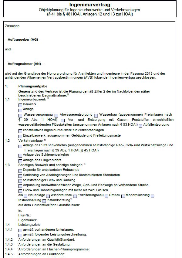 Einblick in eine Seite des Hauptdokumentes.