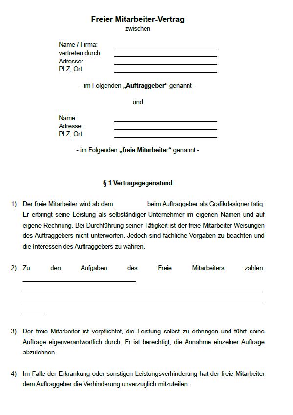 Auszug aus der ersten Seite aus einer Datei