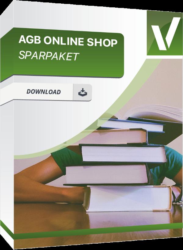 Produktbox für das AGB Online Shop Sparpaket