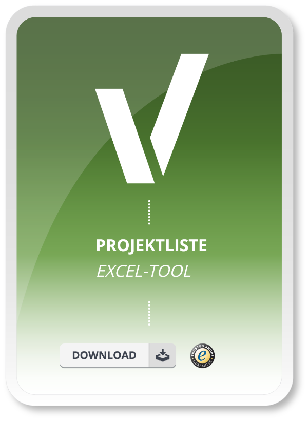 Projektliste Excel Tool