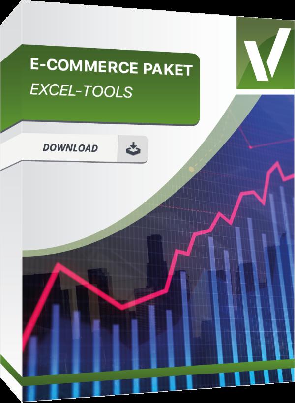 Produktbox für das E-Commerce Excel Paket