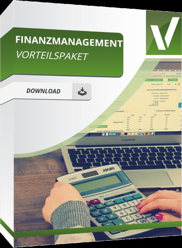 Finanzmanagement Vorteilspaket in Excel