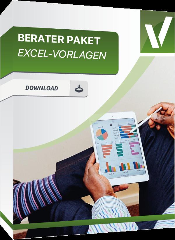 Produktbox für die Excel Vorlage Berater Paket