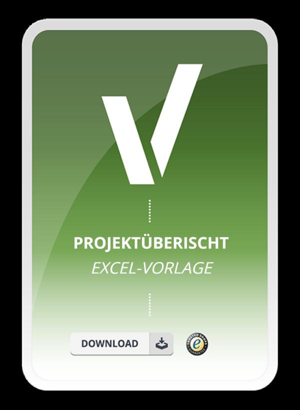Projektübersicht als Excel Vorlage