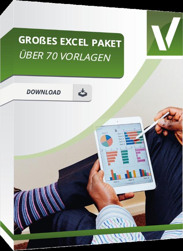Produktbox für das Excelpaket