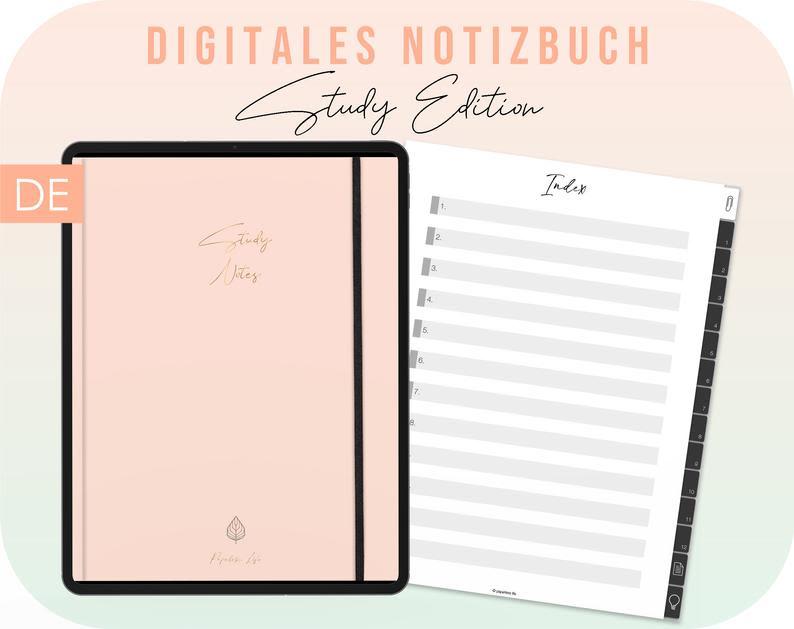 Produktbild Digitales Notizbuch Studys