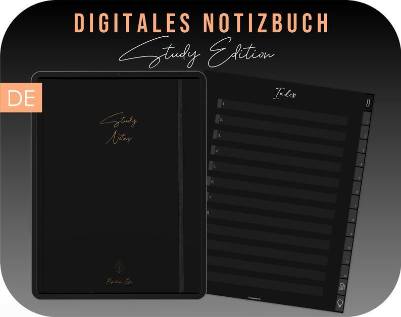 Notizbuch Schwarz