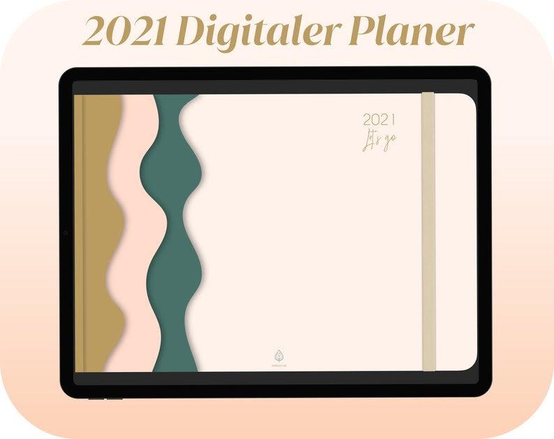 Digitaler Tagesplaner 2021