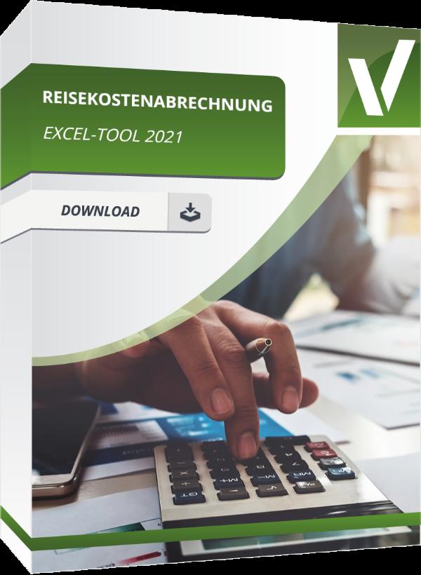 Reisekostenabrechnung in Excel für 2021