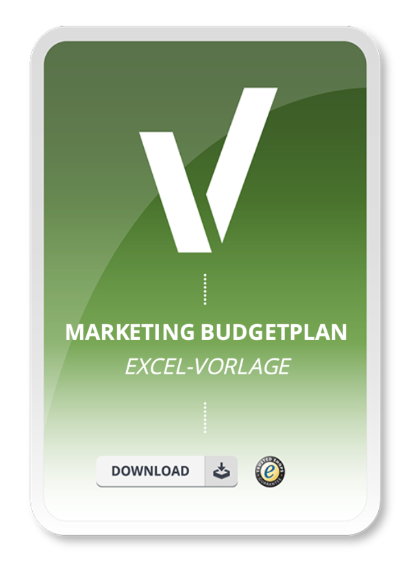 Produktbild Excel.Vorlage Marketing Budget Plan