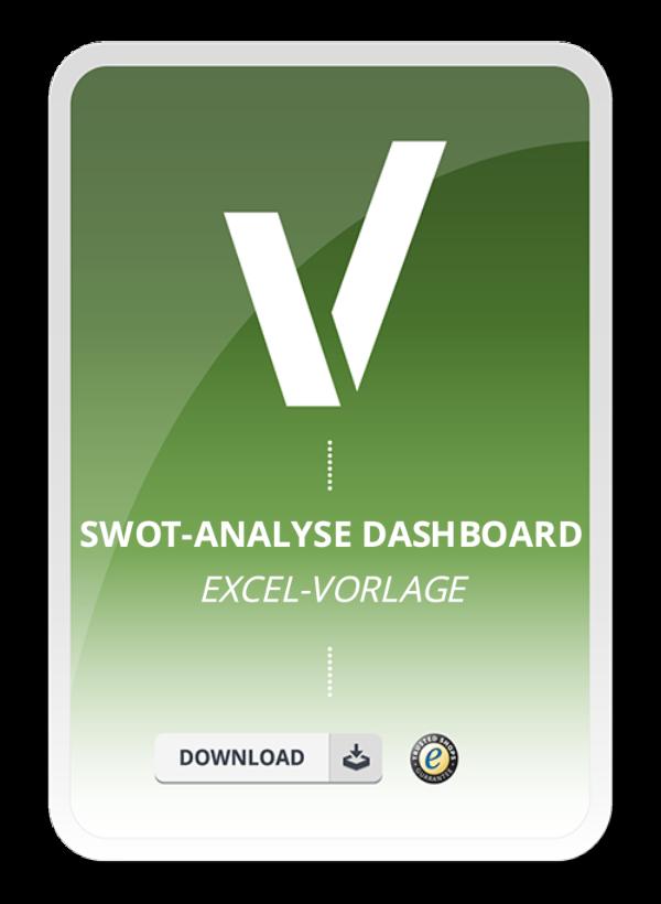 Produktbild für Excel-Vorlage SWOT Analyse Dashboard