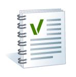 Ein standadisiertes Checklisten-Logo.