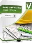 Baukostenrechner Excel Vorlage. Baukosten in Excel berechnen und verwalten.