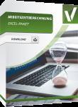 Produktbox für das Excelpaket Arbeitszeitberechnung