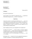 Auszug aus der fristgemäßen Kündigung eines Mietvertrags durch den Vermieter, aufgrund unpünktlicher Mietzahlungen.