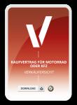 Kaufvertrag für Motorrad oder KFZ Verkäufersicht Muster