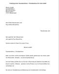 Auszug zum Musterschreiben zur Erteilung von Prokura.