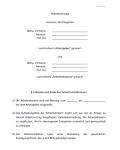Auszug aus dem Arbeitsvertrag für Ehegatten.
