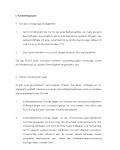 Erste Seite der Checkliste für eine betriebsbedingte Kündigung.