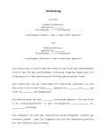 Ausschnitt aus dem Muster einer Umgangsrechtsvereinbarung.