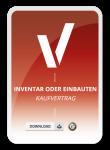Inventar oder Einbauten Kaufvertrag Muster