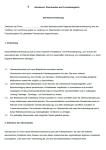 Exemplarische Einsicht in die erste Seite der Vereinbarung