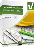 Produktbild Ingenieurvertrag Tragwerksplanung (Gebäude)