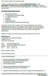 Einblick in die Übersichtsseite mit der inhaltlichen Auflistung der Vorlagen.