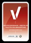 Betriebsanweisung für Biostoffverordnung - Arbeiten an Toiletten und Abwassertanks