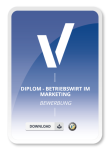 Diplom - Betriebswirt im Marketing Bewerbung Muster