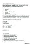 Einblick in die beispielhafte Übersichtsseite mit der inhaltlichen Auflistung der Vorlagen
