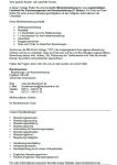 Einblick in die erste Seite der Bewerbungsvorlage