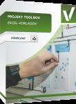 Produktbox für die Excel Vorlage Projekt Toolbox