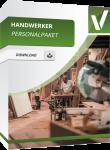 In diesem Handwerkerpaket dreht sich alles um die Personalverantwortlichkeit. Hier finden sie alles rund um Verträge, Arbeitszeugnisse und Co. speziell für Handwerker.