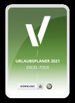 Urlaubsplaner 2021 Excel Tool. Mit diesem Excel Tool einfach Urlaub 2021 planen!