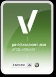 Jahreskalender 2020 in Excel