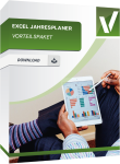 Produktbox für das Vorteilspaket Excel Jahresplaner