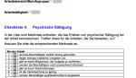 Vorschau Checkliste psychische sättigung