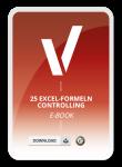 Produktbild eBook – 25 Excel Formeln für das Controlling