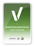Produktbild Excel.Vorlage Marketing Budget Plan