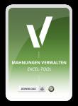 Produktbild für das Excel-Tool Mahnungen verwalten