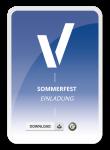 Einladungsschreiben zum Sommerfest