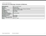Exemplarische Darstellung der Gefährdunsgbeurteilung