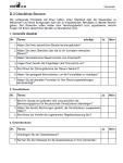 Auflistung wesentlicher Fragen für Ihre Steuererklärung