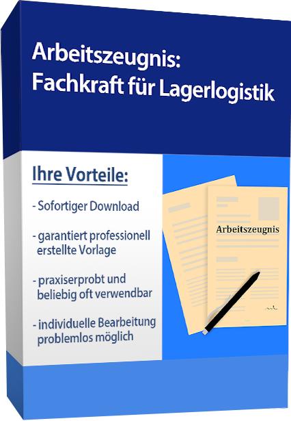 Zwischenzeugnis (gut) - Fachkraft für Lagerlogistik