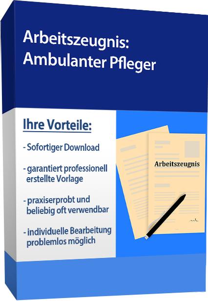 Zwischenzeugnis (gut) - Pflegehelfer in der ambulanten Pflege