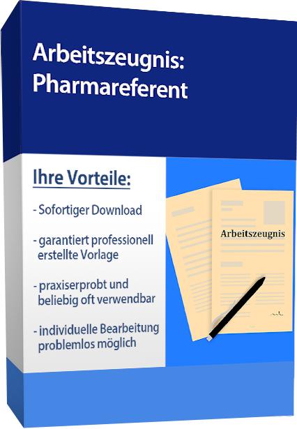 Zwischenzeugnis (gut) - Pharmareferent
