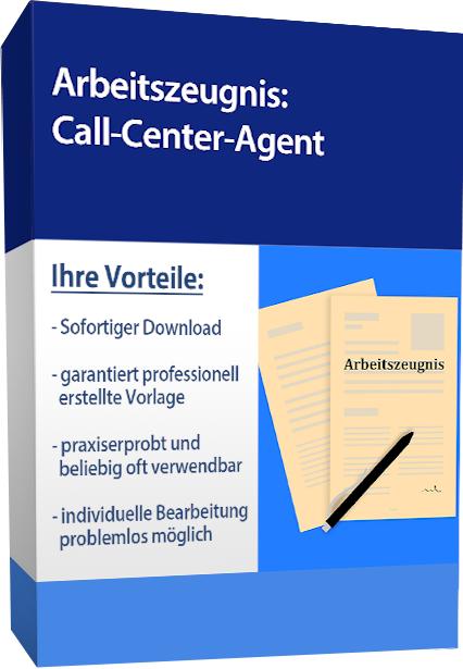 Zwischenzeugnis (sehr gut) - Call-Center-Agent (Outbound)