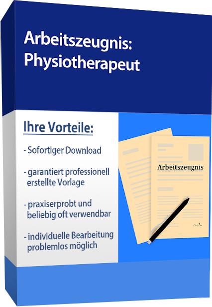 Zwischenzeugnis (sehr gut) - Physiotherapeut
